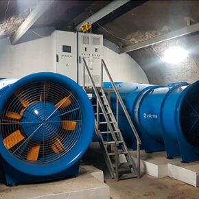 Underground Infrastructure Permanent Ventilation