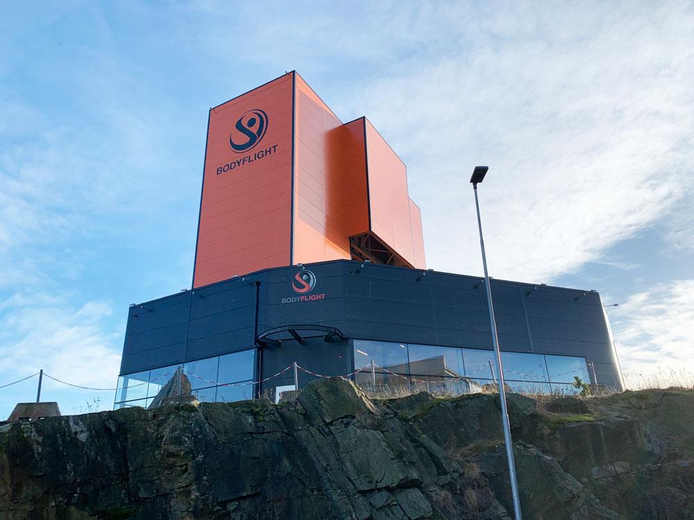 Bodyflight Gothenburg wind Tunnel Zitrón