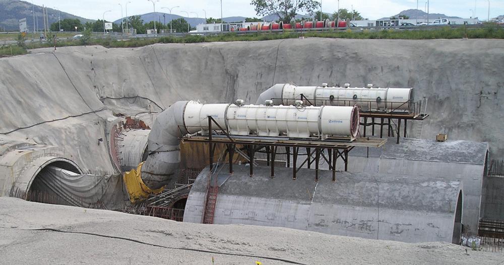Guadarrama Tunnel Temporary Ventilation Zitrón