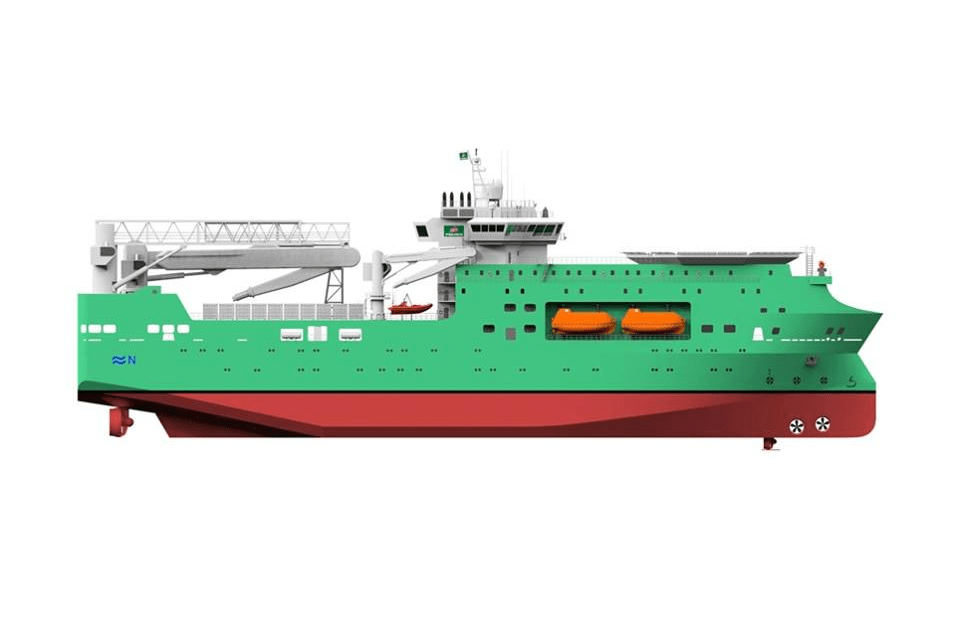 PEMEX Offshore Accommodation Vessel Zitrón